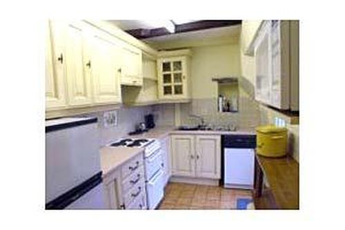 Kitchen in Rhydyolion cottages on the Lleyn Penins