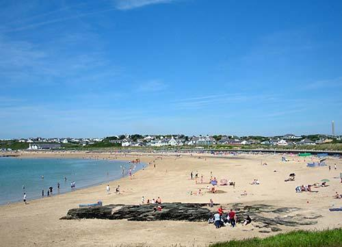 trearddur bay beach