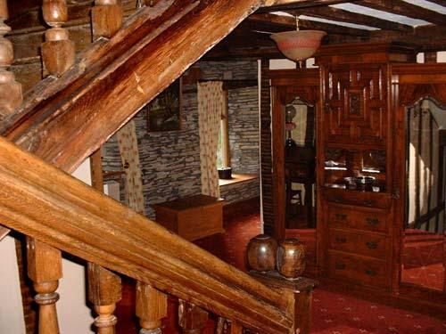 Jacobean oak staircase
