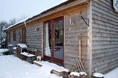 Mid Wales lodge