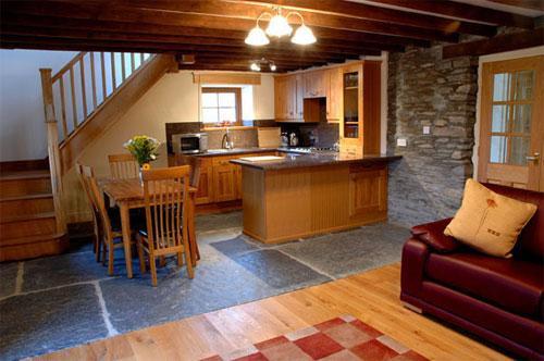 original slate floor