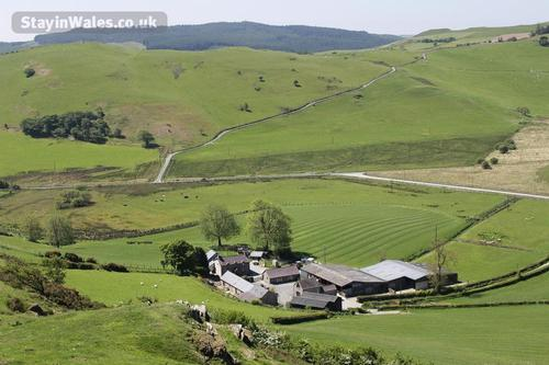 cottages set in mid wales