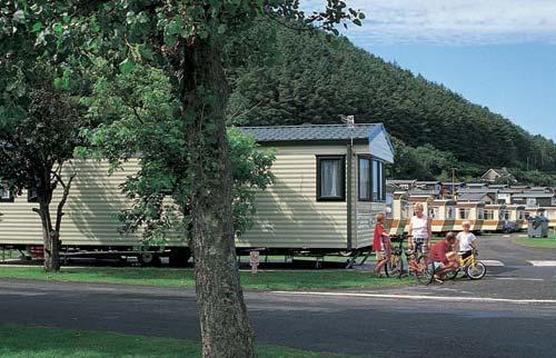 Clarach Bay holiday park