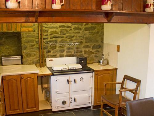 Rayburn in kitchen