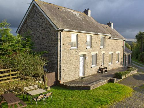 Nanternis farmhouse holiday let