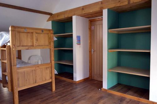 dormitory bedroom