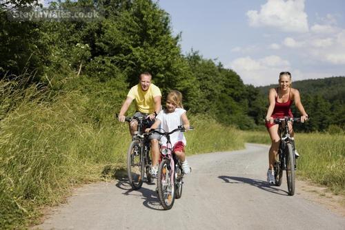 cycling in llandegla forest