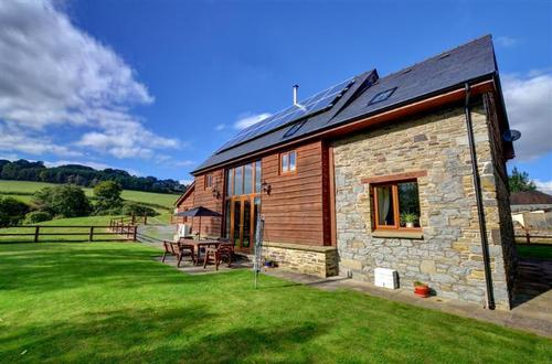 Modern barn conversion in beautiful Mid Wales.