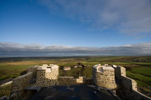 Roch Castle View