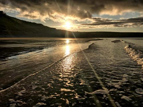 Sunset at Aberdaron