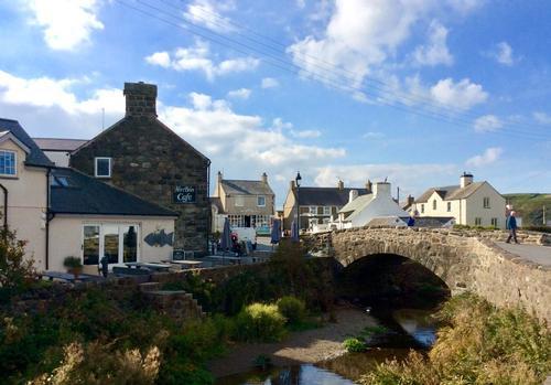 Aberdaron village