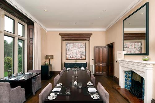 Penrhiw Priory, Breakfast Room