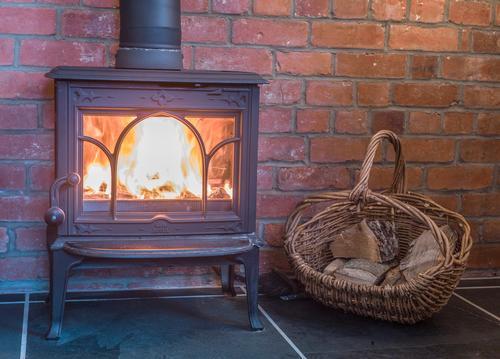 Woodburner for cooler nights