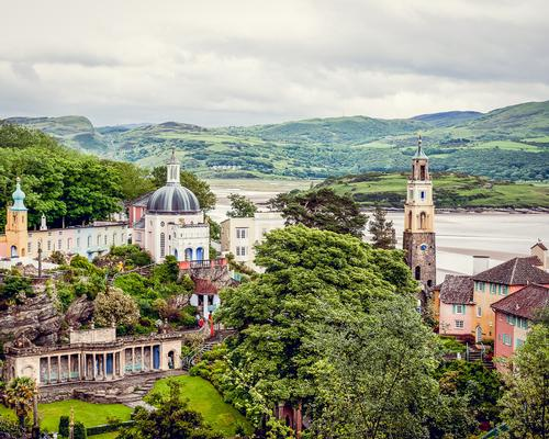Portmeirion - within walking distance