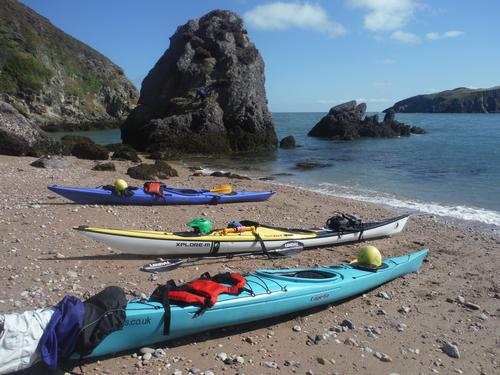 Sea Kayaking with Bach Ventures