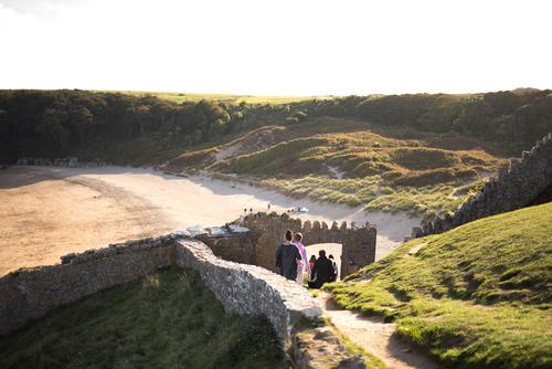 Pembrokeshire sandy beach Barafundle
