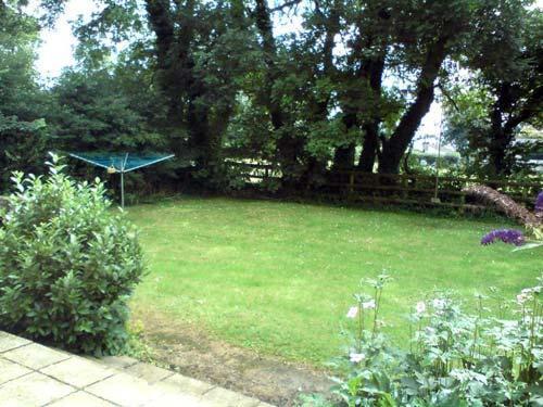 caravan private garden