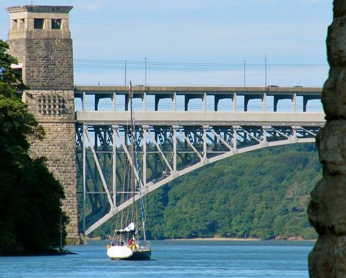 Menai Bridge to Britannia Bridge, Menai Straits