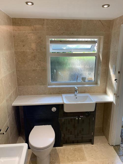 New bathroom March 2020