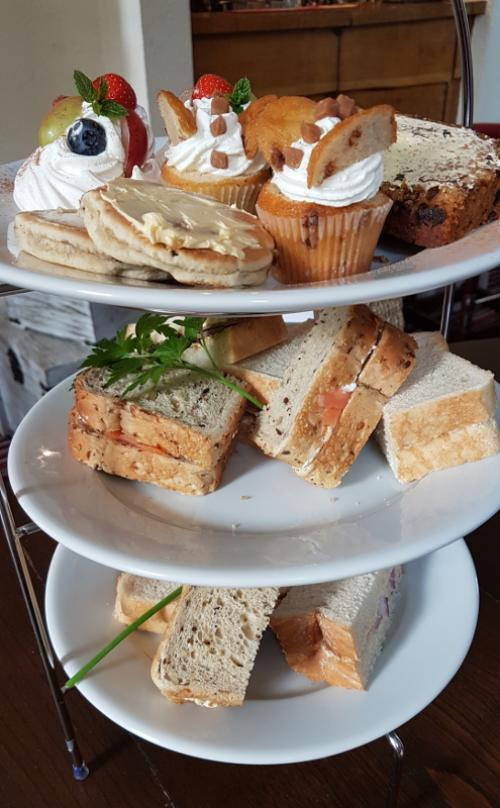 Afternoon Tea £9.95pp must be booked in advance