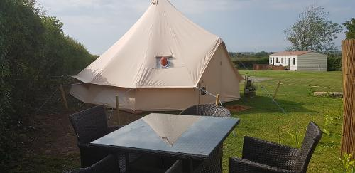 Gwen The Glamping Bell Tent For Hire