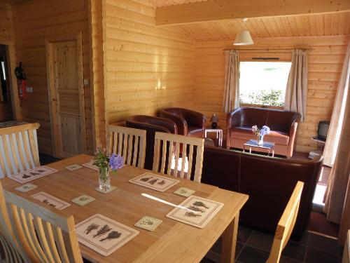 Y Derwen Lodge Dining - Sitting room