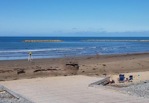 Beautiful Borth Beach 5 mins away