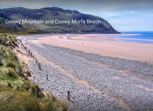Conwy Mountain and beach