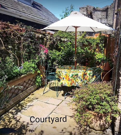 The couyrtyard