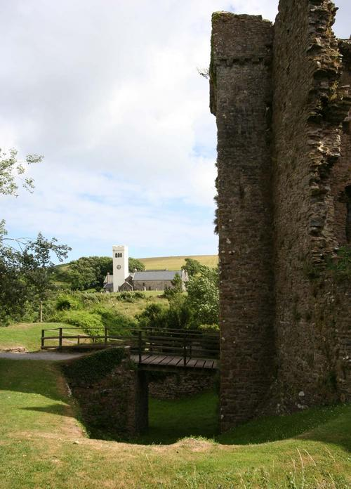 St James Churchm Manorbier