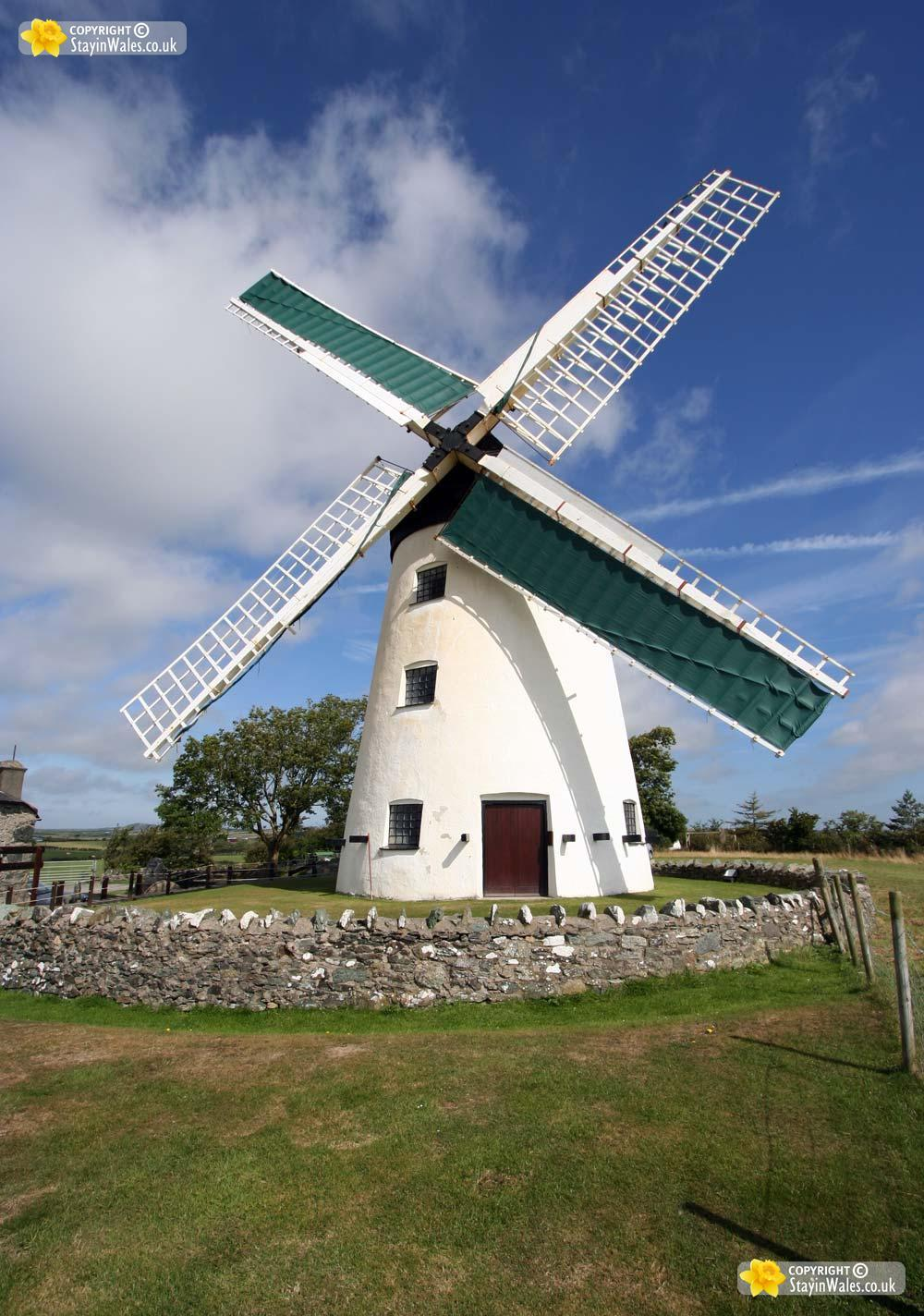 Llynnon Mill at Llanddeusant, Anglesey