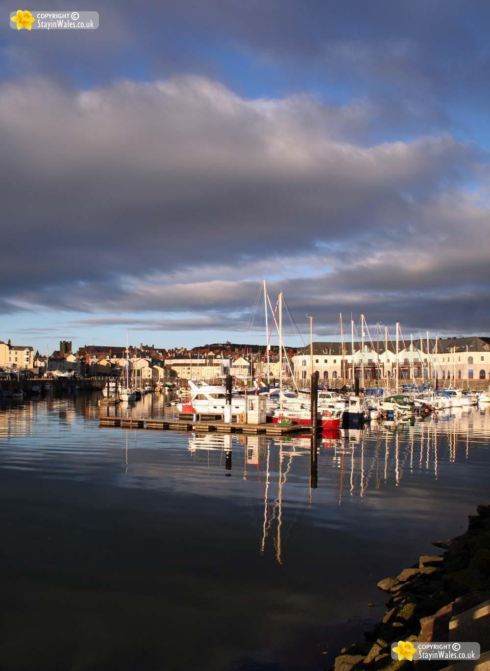 Y Llanfa Aberystwyth Marina