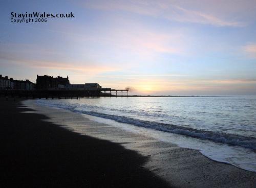 Aberystwyth Beach and Pier