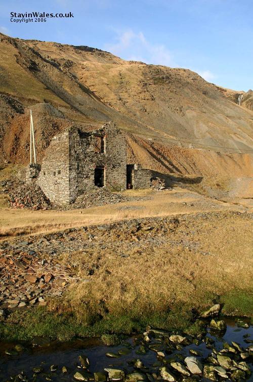 Cwmystwyth lead mine