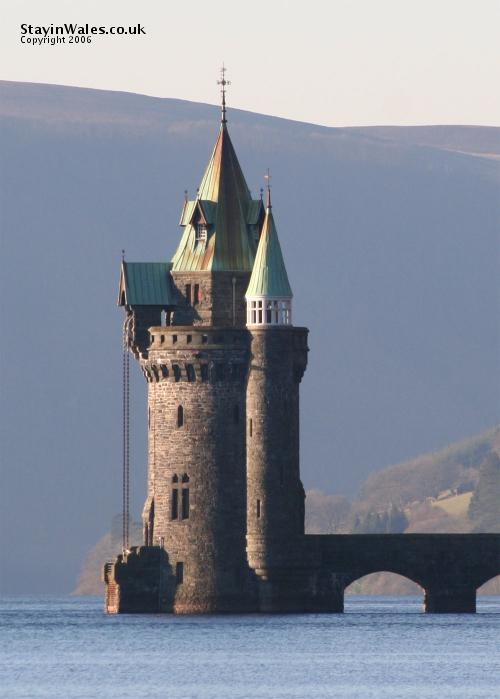 Lake Vyrnwy Tower