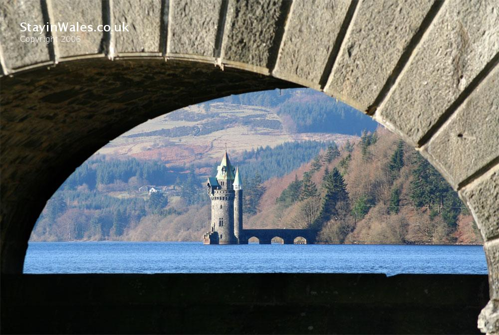 Vyrnwy Tower and dam