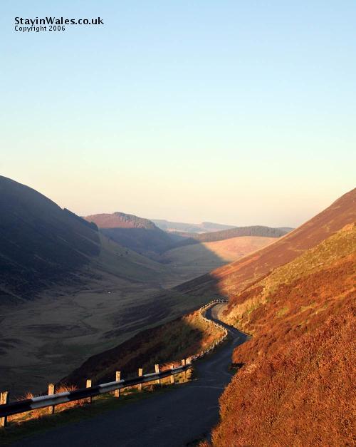 Snowdonia mountain road