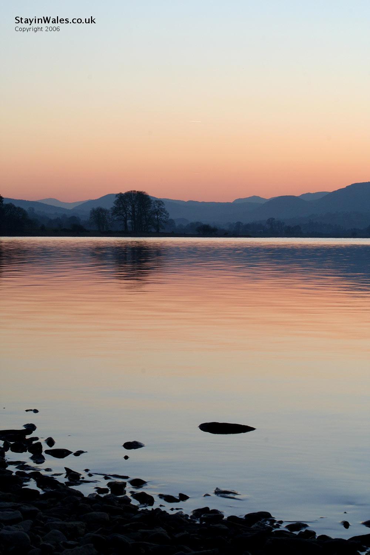 Bala Lake from Llangower Point