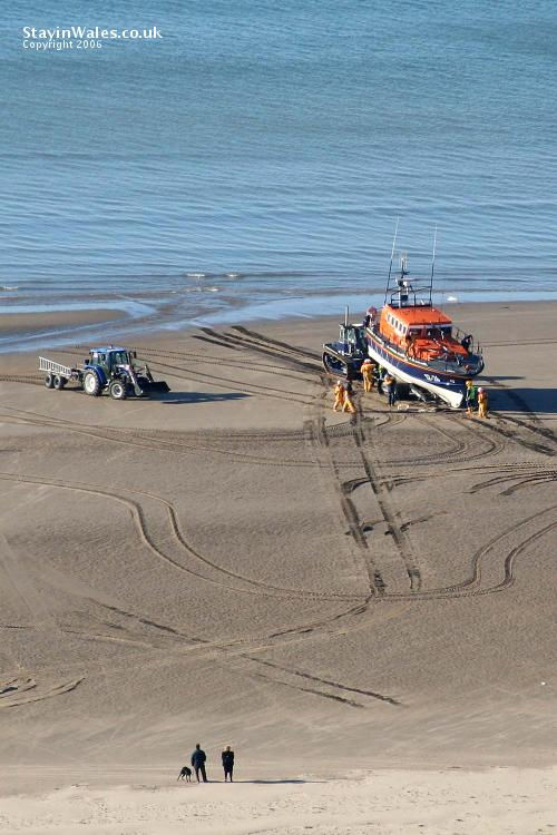 Welsh lifeboat