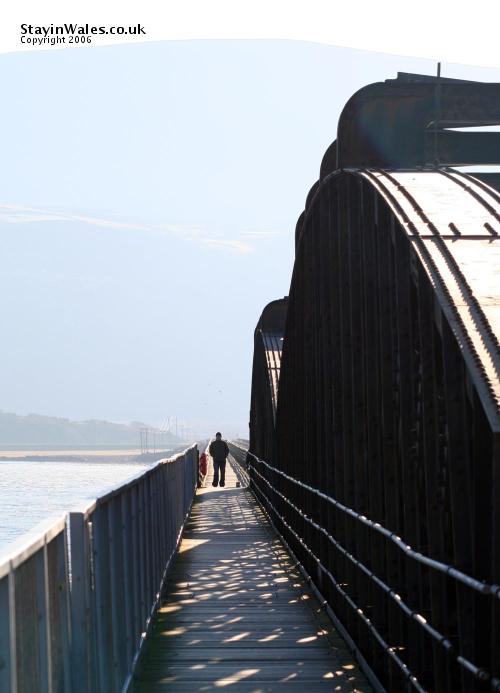 Barmouth Bridge footpath