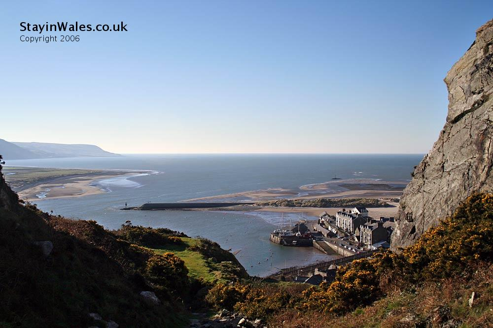 Barmouth Harbour and Mawddach Estuary