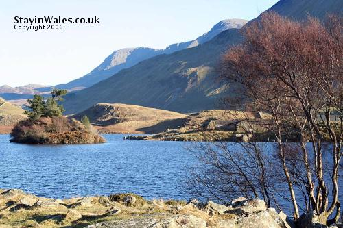 Cregennan Lake and Cader Idris