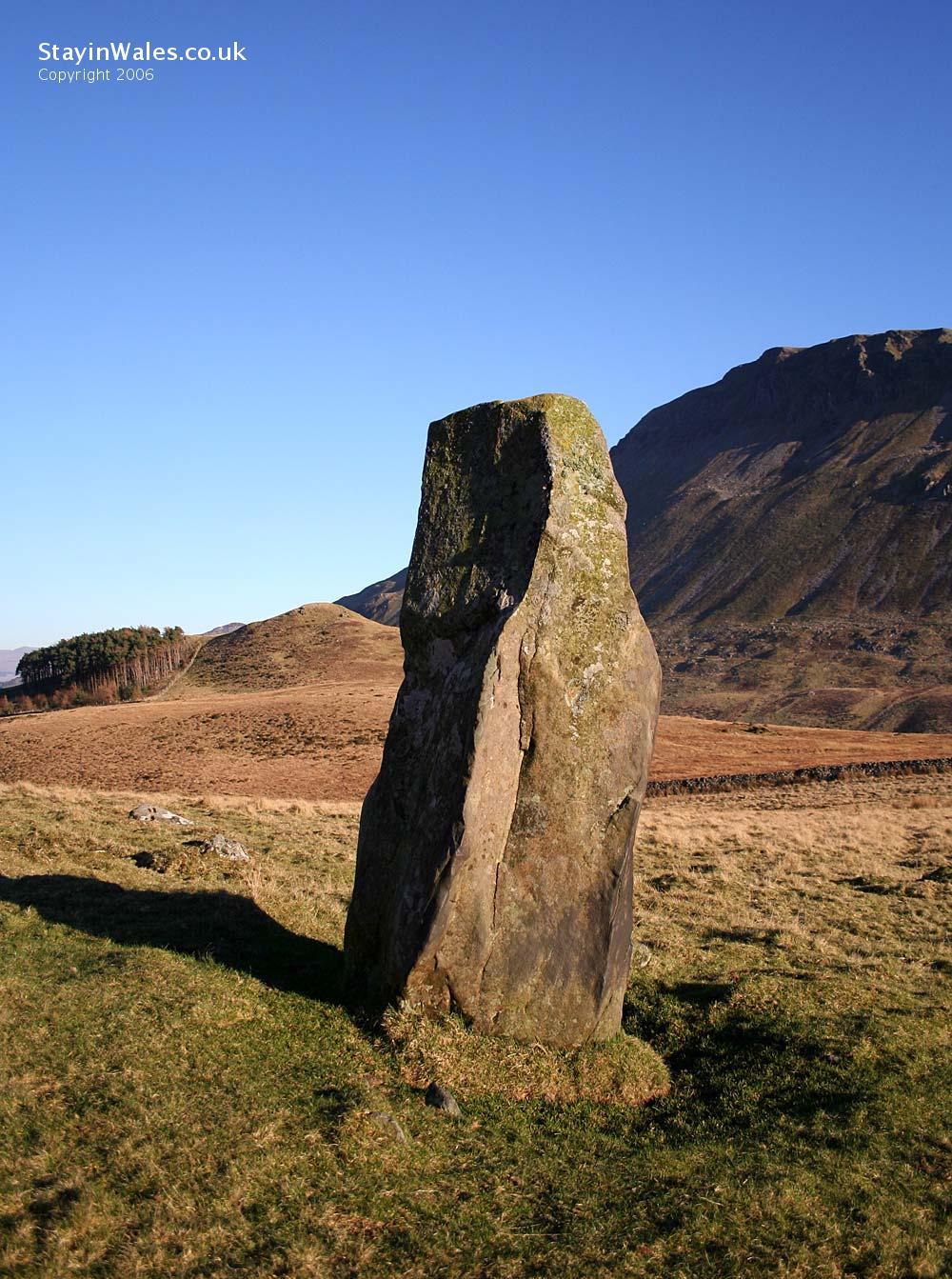 Cregennan standing stone