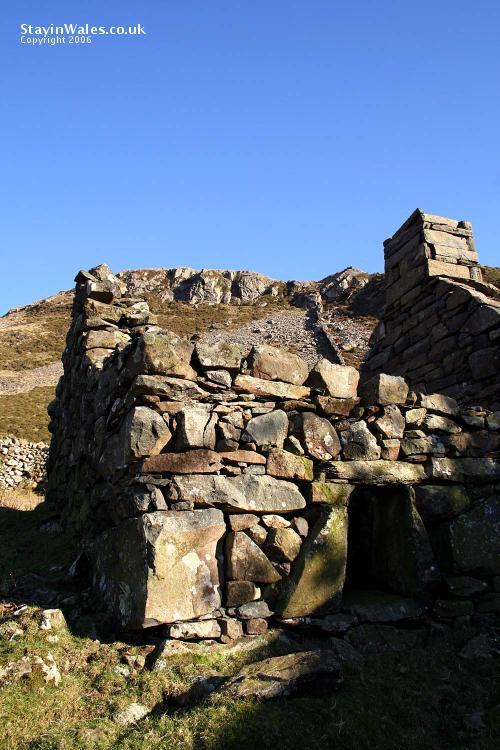 Ruined farmhouse in Snowdonia