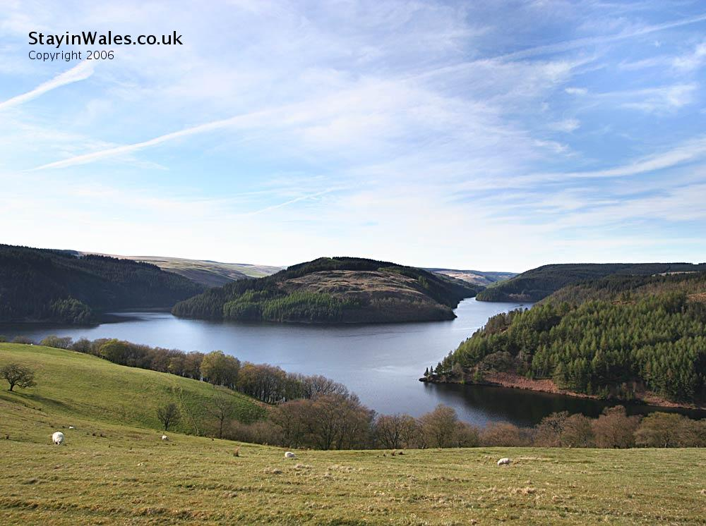 Cambrian Mountains and Llyn Brianne
