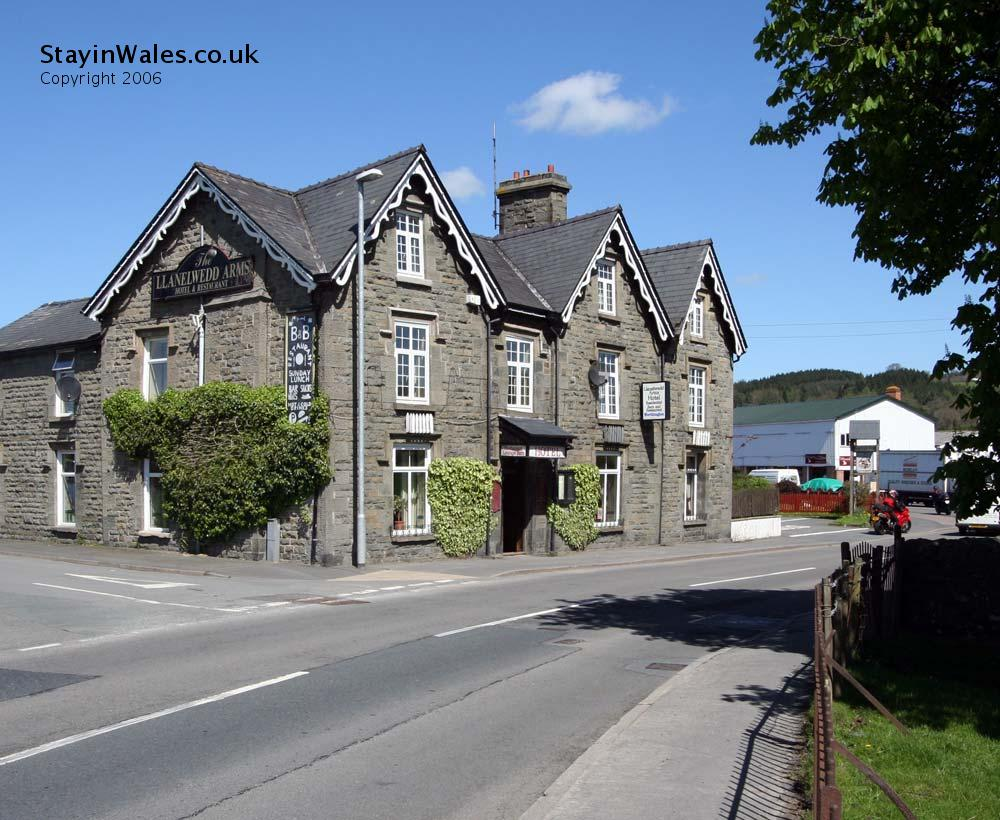 Builth Wells hotel - the Llanelwedd Arms