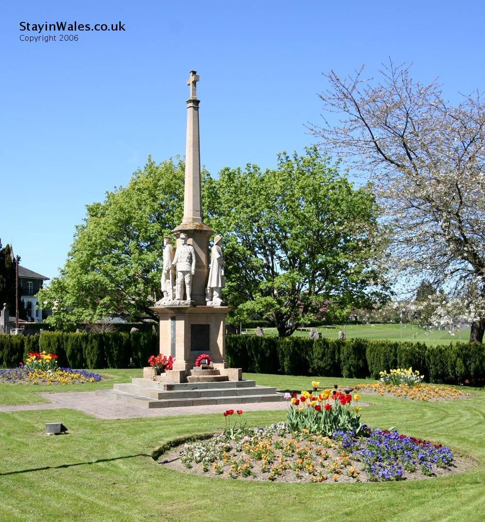 War Memorial Builth Wells