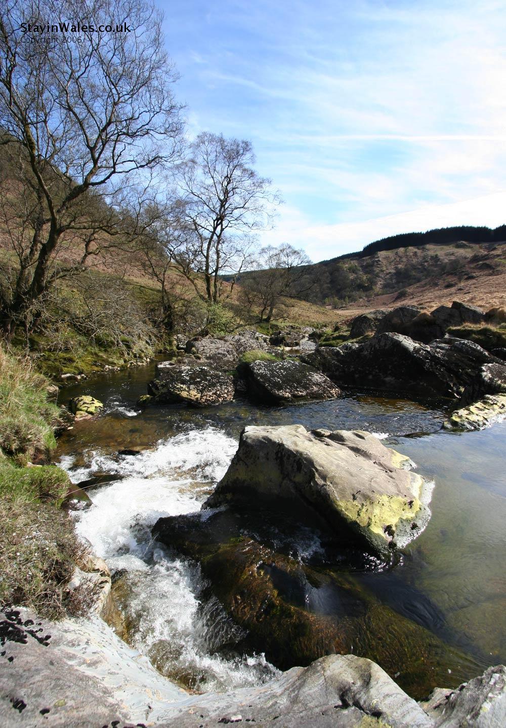 River Irfon Aberwyesyn