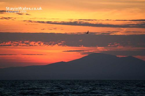 Porthmadog Bay sunset
