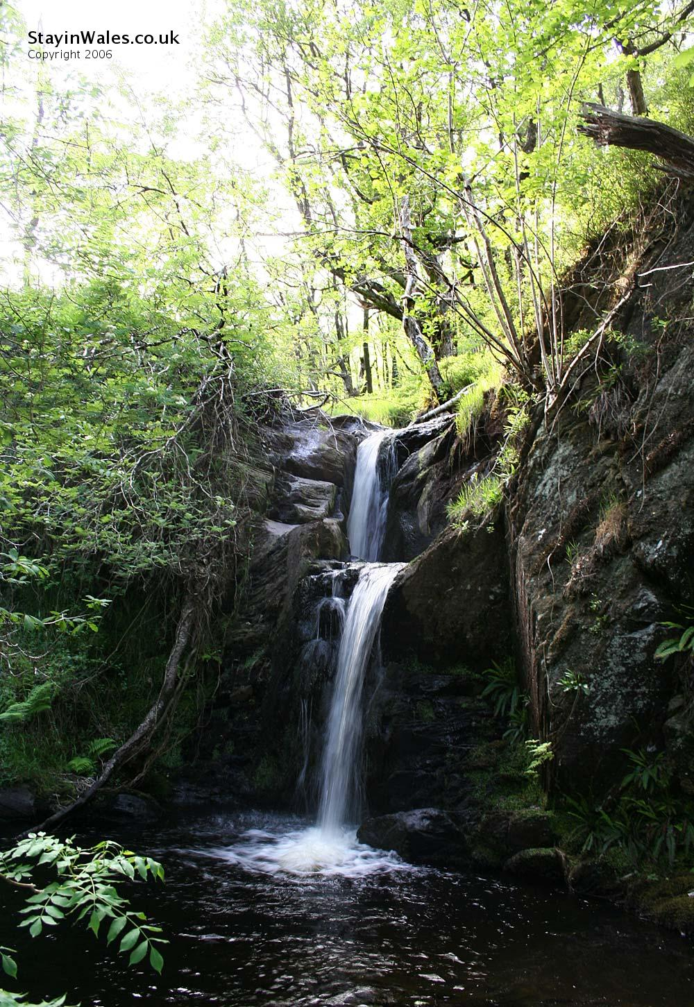 Elan Valley waterfall
